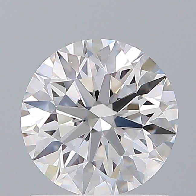 0.90 Carat Round Loose Diamond, D, VS1, Super Ideal, GIA Certified