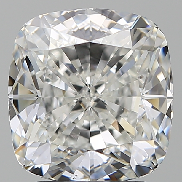 3.33 Carat Cushion Loose Diamond, G, VS1, Super Ideal, GIA Certified