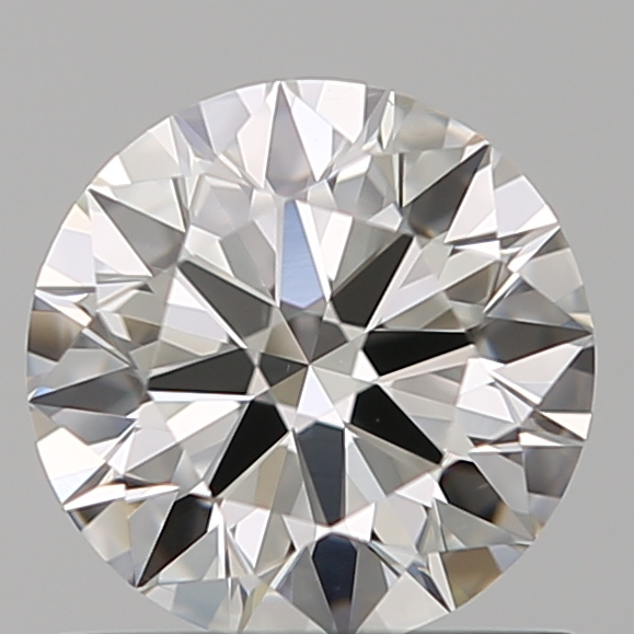 0.75 Carat Round Loose Diamond, H, VS1, Super Ideal, GIA Certified