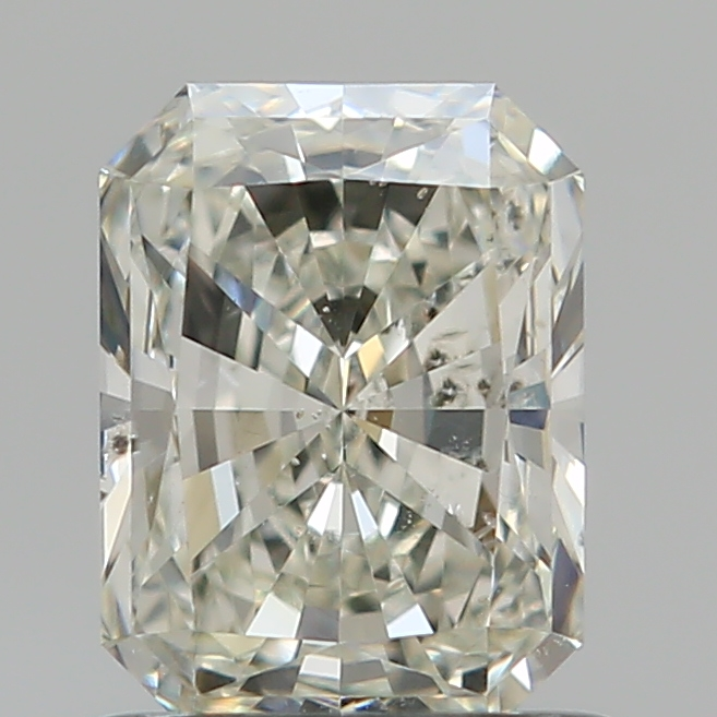 1.02 Carat Radiant Loose Diamond, K, SI2, Super Ideal, GIA Certified