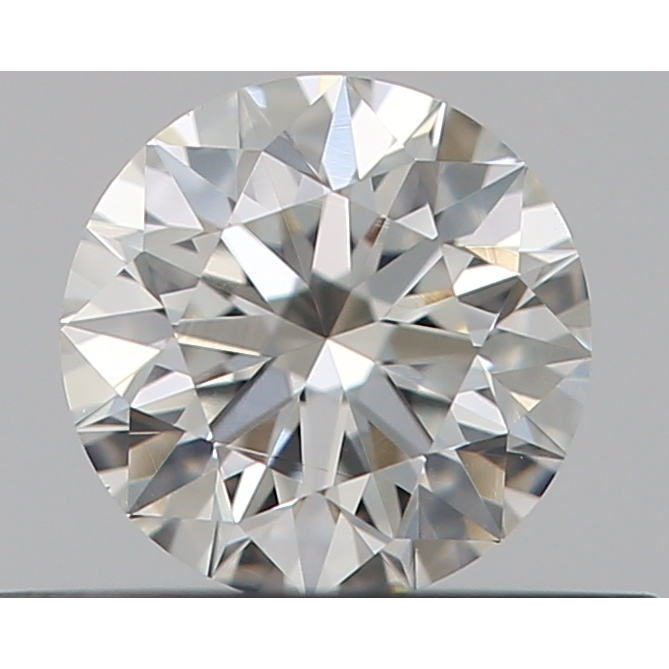 0.29 Carat Round Loose Diamond, G, VS1, Ideal, GIA Certified