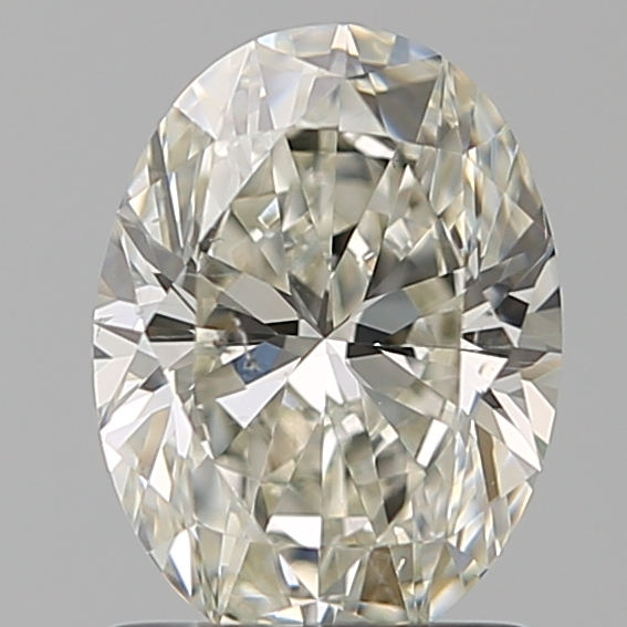 1.20 Carat Oval Loose Diamond, J, SI2, Ideal, GIA Certified | Thumbnail