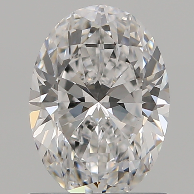 0.90 Carat Oval Loose Diamond, D, VS1, Super Ideal, GIA Certified