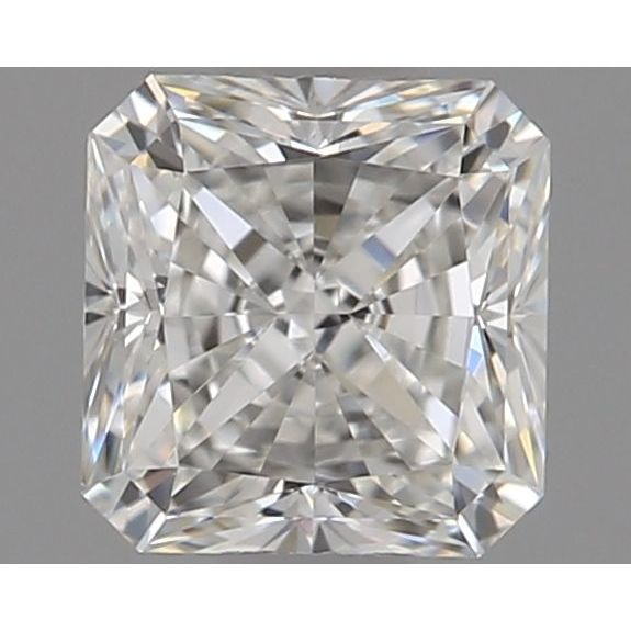 0.50 Carat Radiant Loose Diamond, G, VVS1, Super Ideal, GIA Certified