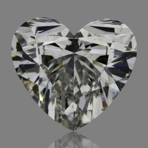 2.09 Carat Heart Loose Diamond, G, SI1, Super Ideal, GIA Certified