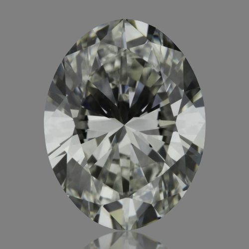 0.70 Carat Oval Loose Diamond, H, IF, Super Ideal, GIA Certified