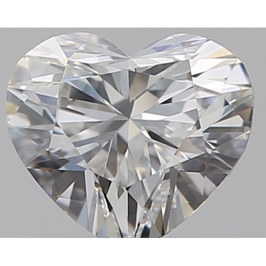 0.30 Carat Heart Loose Diamond, F, VS1, Ideal, GIA Certified
