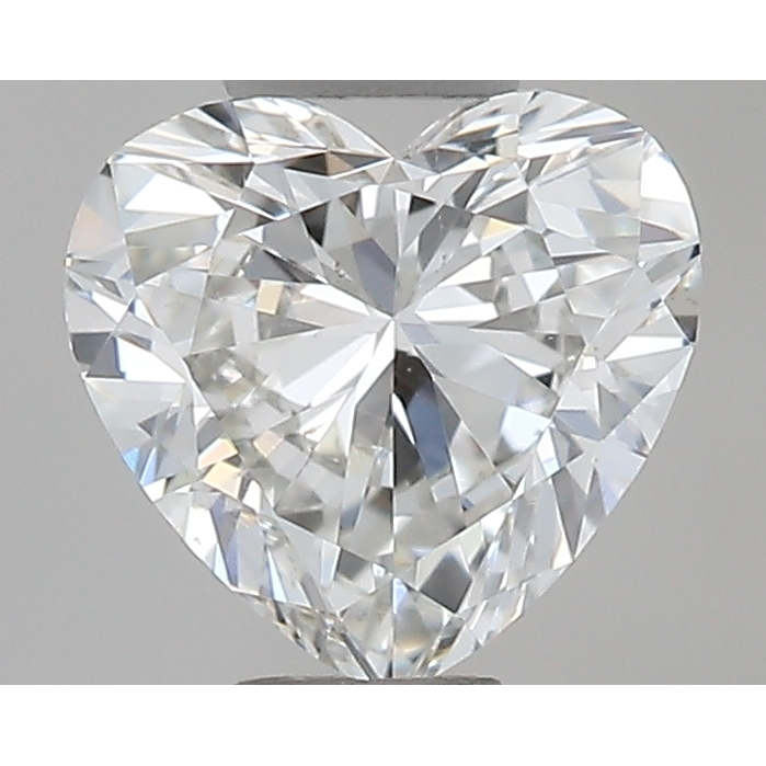 0.30 Carat Heart Loose Diamond, G, VS2, Excellent, GIA Certified