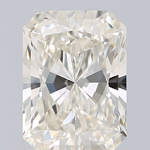 0.60 Carat Radiant Loose Diamond, I, VS1, Super Ideal, GIA Certified