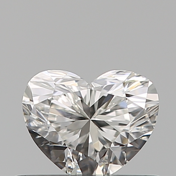 0.40 Carat Heart Loose Diamond, G, VS2, Super Ideal, GIA Certified | Thumbnail