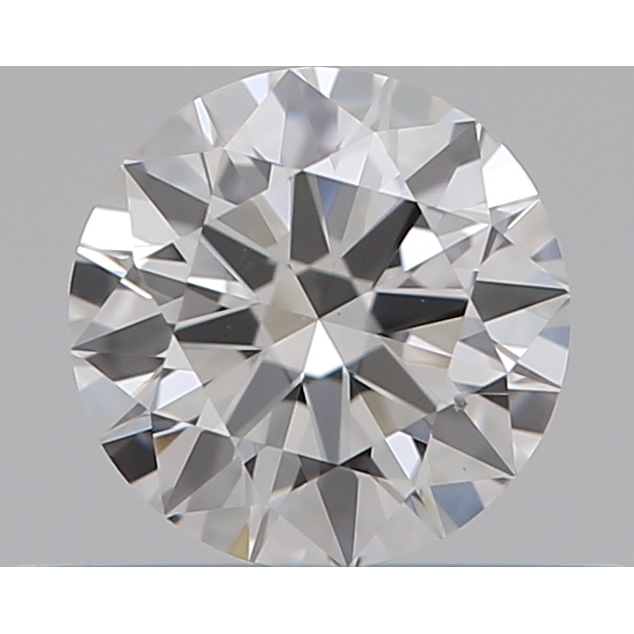 0.31 Carat Round Loose Diamond, F, VS1, Super Ideal, GIA Certified