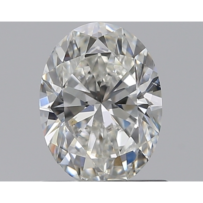0.70 Carat Oval Loose Diamond, G, SI1, Super Ideal, GIA Certified
