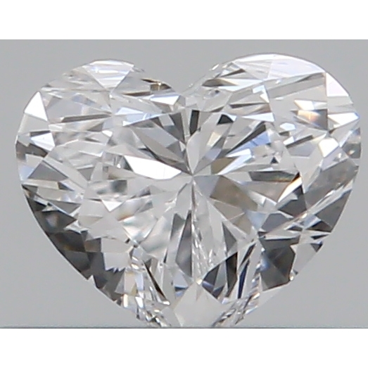0.30 Carat Heart Loose Diamond, D, VVS2, Ideal, GIA Certified