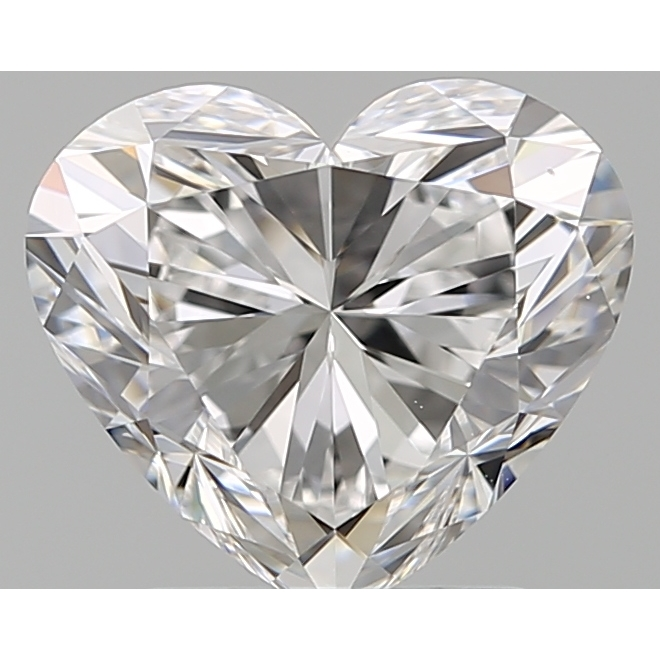 2.01 Carat Heart Loose Diamond, D, VS1, Super Ideal, GIA Certified