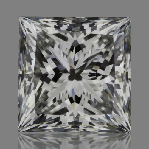 0.75 Carat Princess Loose Diamond, F, VVS2, Super Ideal, GIA Certified | Thumbnail