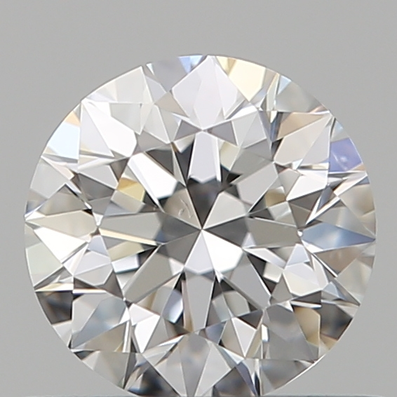 0.50 Carat Round Loose Diamond, E, VVS1, Super Ideal, GIA Certified
