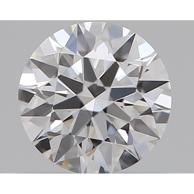 0.30 Carat Round Loose Diamond, D, VS2, Super Ideal, GIA Certified