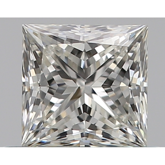 0.53 Carat Princess Loose Diamond, I, VVS2, Super Ideal, GIA Certified