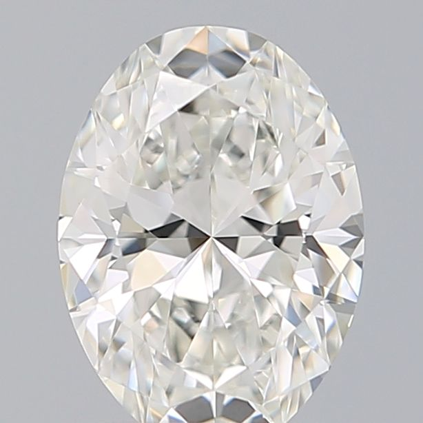 0.51 Carat Oval Loose Diamond, G, IF, Super Ideal, GIA Certified