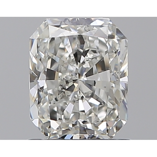 1.00 Carat Radiant Loose Diamond, I, SI1, Super Ideal, GIA Certified