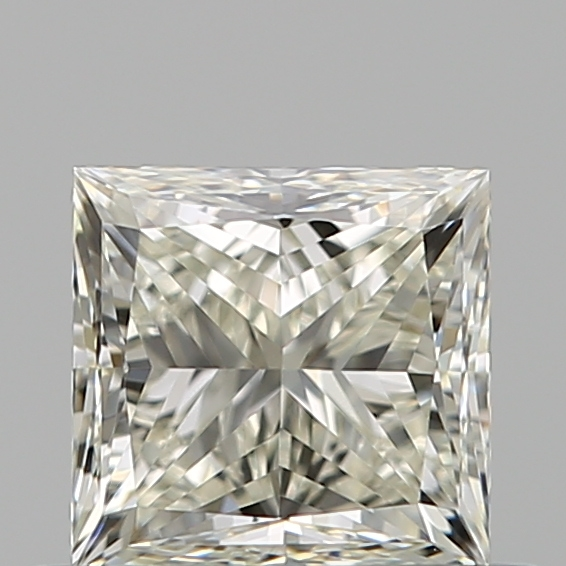 0.51 Carat Princess Loose Diamond, K, VVS1, Ideal, GIA Certified | Thumbnail