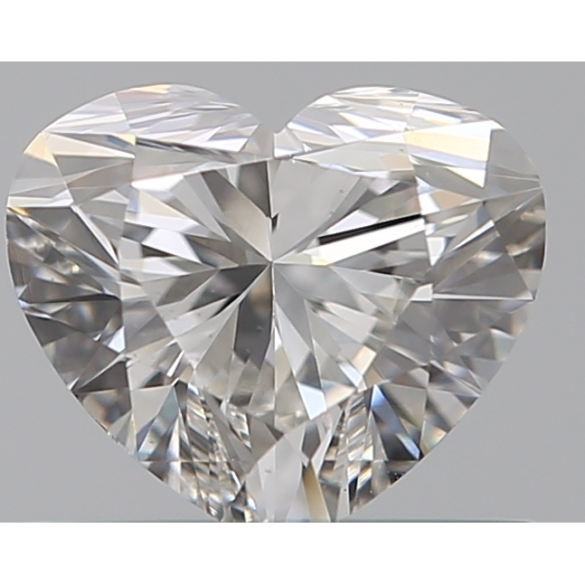 0.52 Carat Heart Loose Diamond, F, VS2, Super Ideal, GIA Certified