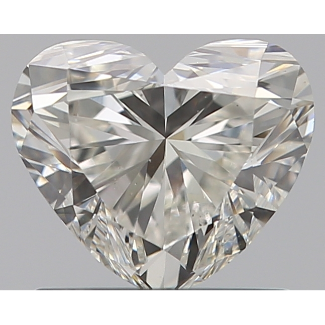 0.90 Carat Heart Loose Diamond, I, VS2, Super Ideal, GIA Certified