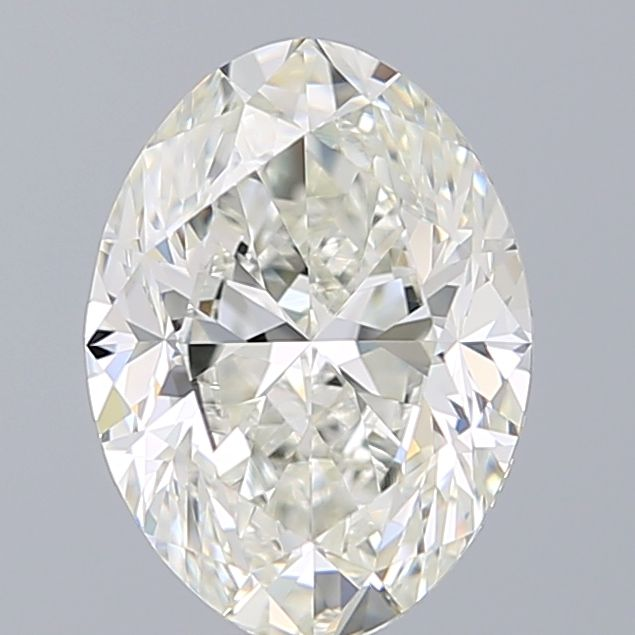 1.80 Carat Oval Loose Diamond, I, IF, Ideal, GIA Certified