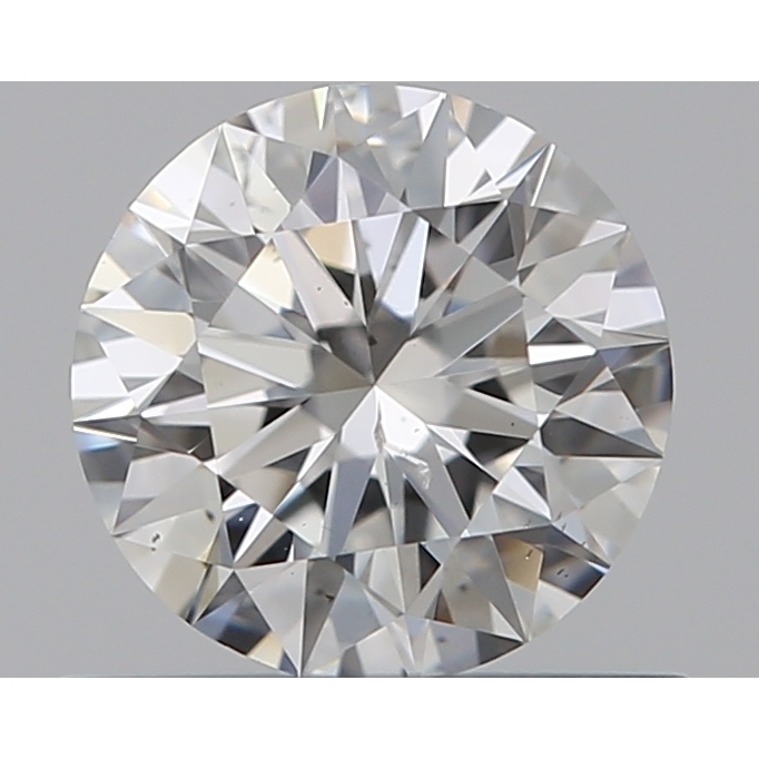 0.50 Carat Round Loose Diamond, G, SI2, Super Ideal, GIA Certified