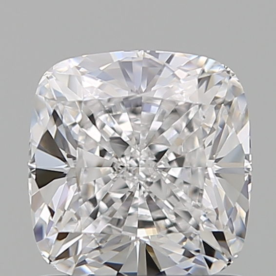 1.07 Carat Cushion Loose Diamond, D, IF, Super Ideal, GIA Certified
