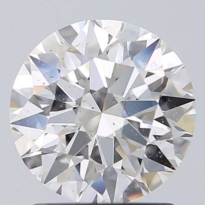1.40 Carat Round Loose Diamond, G, SI1, Super Ideal, GIA Certified