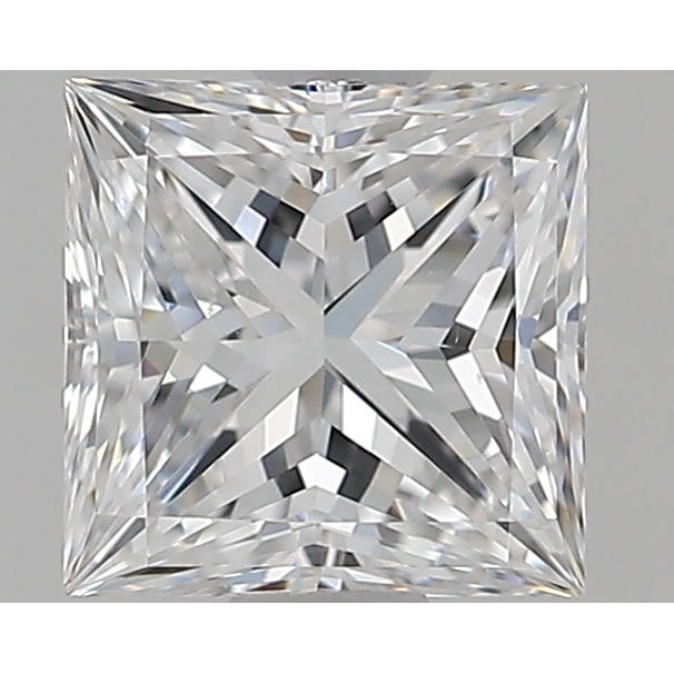 0.75 Carat Princess Loose Diamond, E, VS1, Super Ideal, GIA Certified