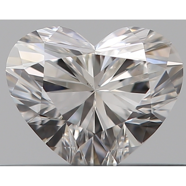 0.30 Carat Heart Loose Diamond, I, VS2, Super Ideal, GIA Certified