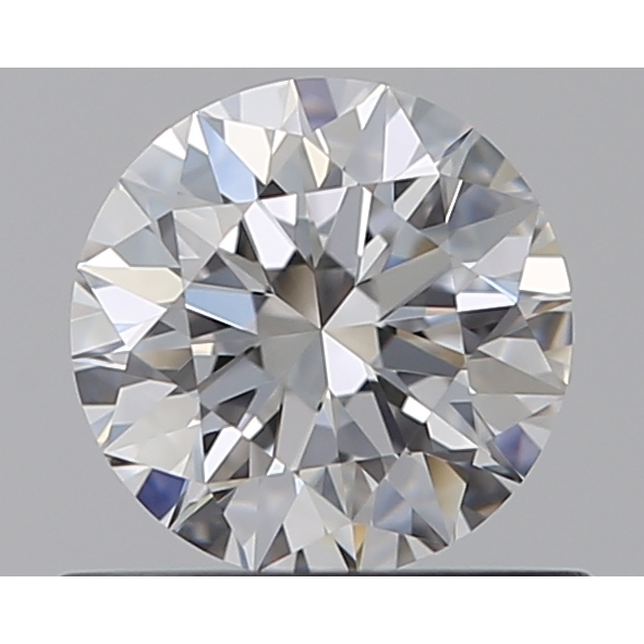 0.50 Carat Round Loose Diamond, D, VVS2, Super Ideal, GIA Certified