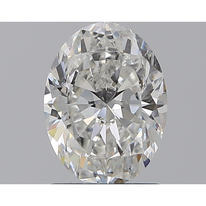 1.20 Carat Oval Loose Diamond, G, SI1, Super Ideal, GIA Certified