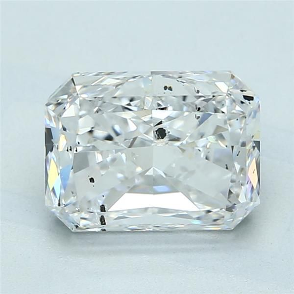 3.01 Carat Radiant Loose Diamond, D, SI2, Super Ideal, GIA Certified
