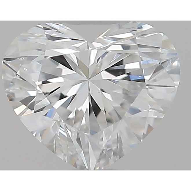 0.30 Carat Heart Loose Diamond, F, VS2, Ideal, GIA Certified | Thumbnail