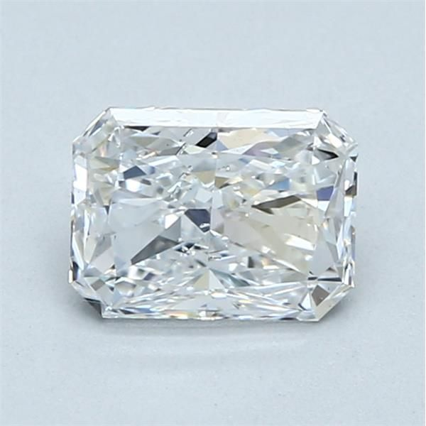 1.01 Carat Radiant Loose Diamond, D, SI2, Excellent, GIA Certified