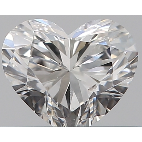 0.31 Carat Heart Loose Diamond, F, SI1, Super Ideal, GIA Certified | Thumbnail