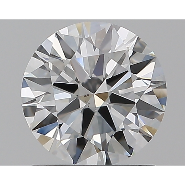 0.96 Carat Round Loose Diamond, E, VS2, Super Ideal, GIA Certified