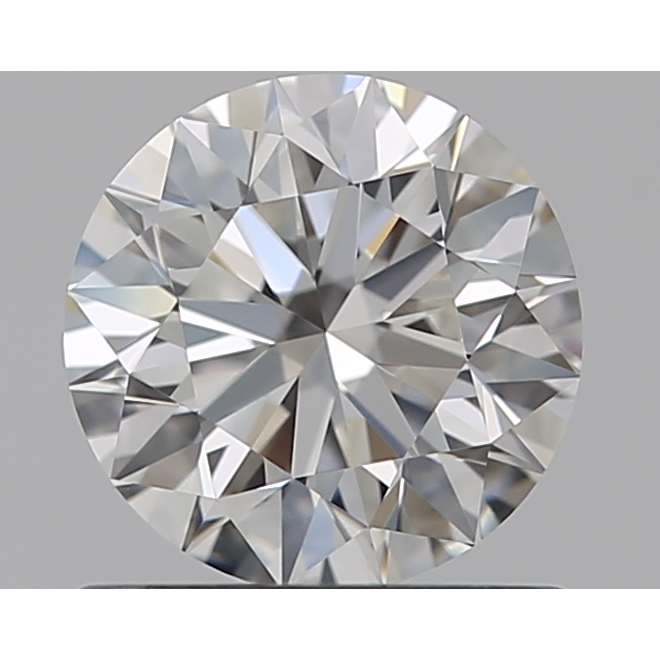 0.72 Carat Round Loose Diamond, F, IF, Super Ideal, GIA Certified