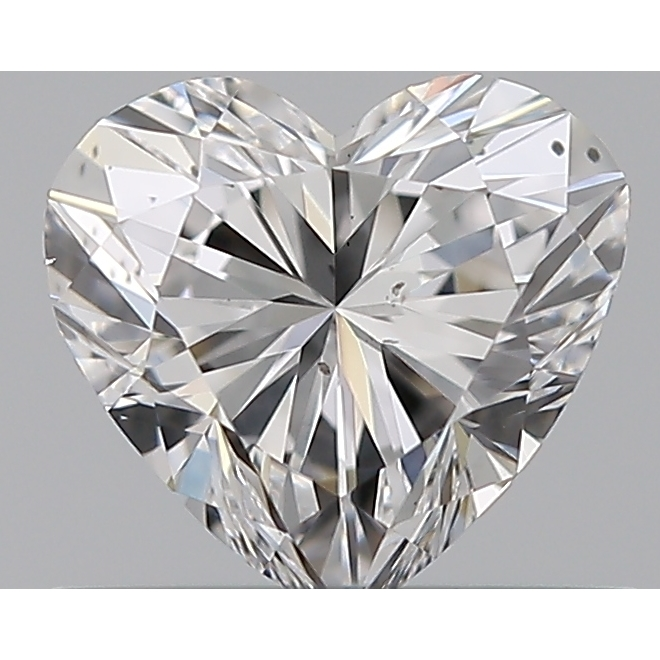 0.50 Carat Heart Loose Diamond, D, SI1, Ideal, GIA Certified