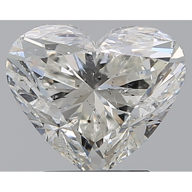 2.20 Carat Heart Loose Diamond, I, SI2, Ideal, GIA Certified