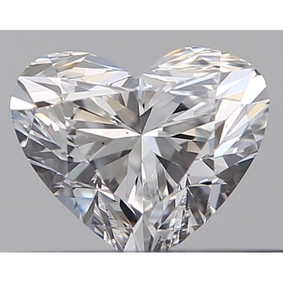 0.30 Carat Heart Loose Diamond, D, VS1, Ideal, GIA Certified | Thumbnail