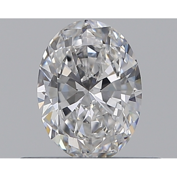 0.33 Carat Oval Loose Diamond, D, VVS1, Super Ideal, GIA Certified