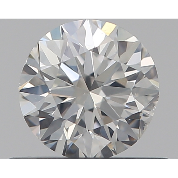 0.40 Carat Round Loose Diamond, F, SI1, Very Good, GIA Certified