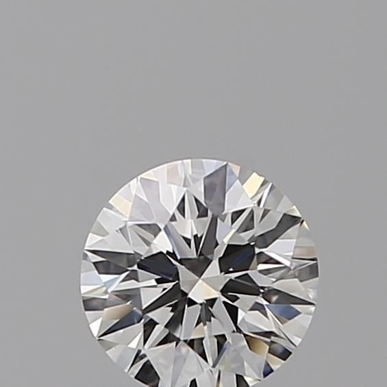 0.35 Carat Round Loose Diamond, F, VS1, Super Ideal, GIA Certified