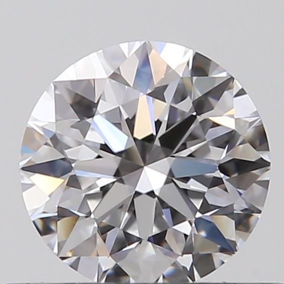 0.40 Carat Round Loose Diamond, D, IF, Super Ideal, GIA Certified
