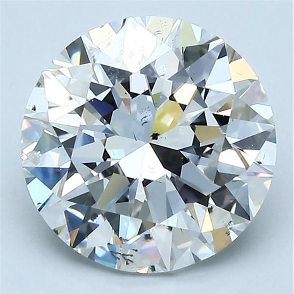 3.01 Carat Round Loose Diamond, F, SI1, Excellent, GIA Certified