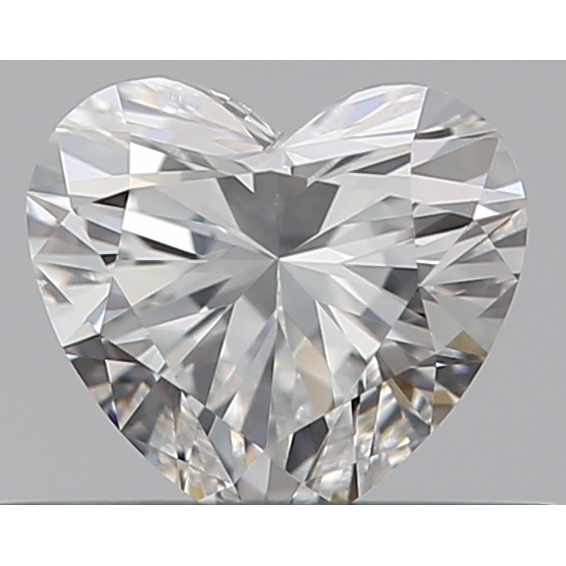 0.32 Carat Heart Loose Diamond, F, SI1, Super Ideal, GIA Certified | Thumbnail